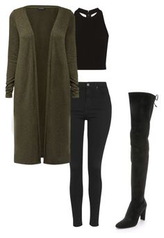 """""""Untitled #24"""" by georgiarose2008 on Polyvore featuring Topshop, Alice + Olivia and Stuart Weitzman"""