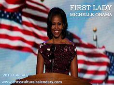 2013 Michelle Obama Calendar