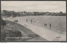 Swans and Canoe Lake, Southsea, Hampshire, c.1907 - Valentine's Postcard