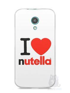 Capa Moto G2 I Love Nutella - SmartCases - Acessórios para celulares e tablets :)