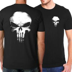 The Punisher - Short Sleeve T-Shirt for Men