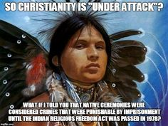 """Christianity isn't so much under attack as it is under pressure from the growing number of """"no religious preferences"""""""