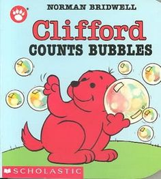 Clifford the small red puppy counts from one to ten while playing with bubbles. (Grades: Prek-K) Call number: PZ7.B7633 Cj 1992