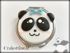Miroir de sac  Panda Kawaii