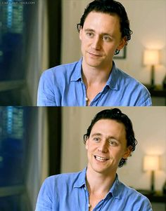 #TomHiddleston.  The Avengers official on-set interview.