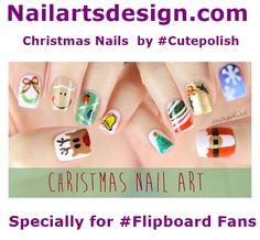 Nail Design for Christmas >> http://goo.gl/WiyGIK