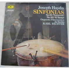 SINFONÍA JOSEPH HAYDN VINILO