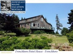 See 1 photo from visitors to Downeast Maine Vacation Rentals. Maine Vacation Rentals, Blue Hill, Coastal Cottage, Cabin Rentals, Ideal Home, Tours, Mansions, House Styles, Places