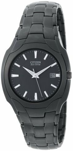 Citizen Men's BM6015-51E Eco-Drive Black Plated Stainless Steel Black Dial Watch Citizen. $159.80. Date function. Eco Drive technology is fueled by light and it never needs a battery. Save 32%!