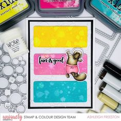 Creative Company, Creative Design, Platypus, Cool Cards, Card Making, Ash, Cute, Stamps, Crafty