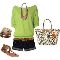 Cute outfit--bag is Dooney/Bourke and reasonable!