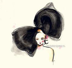 illustration of chanel   Ariel Choi's Illustrations