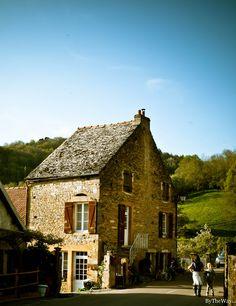 House in Bourgogne.