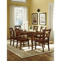 International Concepts Salerno Espresso (Brown) Wood Dining Chair (Set of Ladder Back Dining Chairs, Tufted Dining Chairs, Fabric Dining Chairs, Dining Chair Set, Side Chairs, Dining Room, Porch Table, Interior Design Themes, Restaurant Chairs