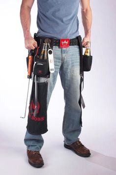 Extreme grilling tool belt