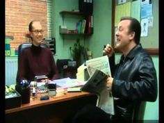 EXTRAS Bloopers: Ricky Gervais & Stephen Merchant - Drinking Champagne