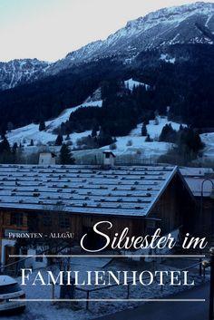 Wir waren das erste Mal Silvester im Familienhotel. Eigentlich sollte es ein Skiurlaub werden, aber aufgrund des geringen Schneefalls war es ein entspannter Winterurlaub. #winterurlaub #urlaubmitkindern #pfronten #Bavaria #alpen