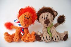 Pattern to buy. Crochet Animals, Crochet Toys, Crochet Baby, Knit Crochet, Amigurumi Toys, Softies, Fabric Toys, Doll Toys, Dolls