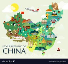 Find Map China Attractions Vector Illustration stock images in HD and millions of other royalty-free stock photos, illustrations and vectors in the Shutterstock collection. Thousands of new, high-quality pictures added every day. China Map, China Travel, Kung Fu, World Cities, Map Design, Unicorn Birthday Parties, Cartography, Illustrations Posters, Illustrators
