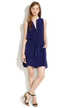 Silk Playa Dress -- Shop online at Madewell through Zoola and get cash back!