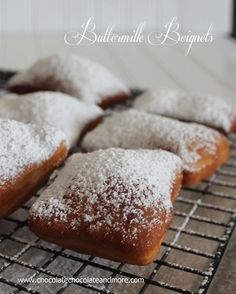 Buttermilk Beignets or French Donuts