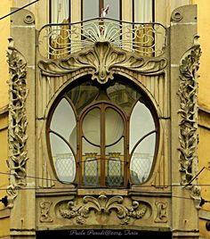 la Casa Nizza, à Turin Architecture Art Nouveau, Beautiful Architecture, Art And Architecture, Architecture Details, Turin, Jugendstil Design, Art Nouveau Design, Marquise, Sculpture