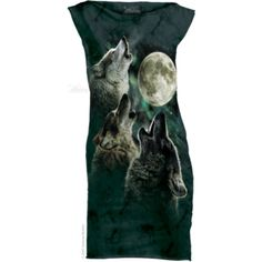 The Mountain Three Wolf Moon Mint Dress Mini Skirt Dress, Mint Dress, Dress Black, Animals And Pets, Funny Animals, Three Wolf Moon, Wolf Spirit, Wolf Howling, Mini Vestidos