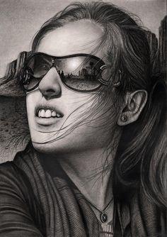 'SUNRISE' graphite drawing by Pen-Tacular-Artist.deviantart.com on @deviantART