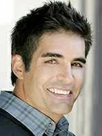 """Galen Gering Birthday: February 13, 1971 Birthplace: Los Angeles, California USA Marital Status: Married Jenna Gering (Eloped to Vegas 01/03/2000) Currently playing: Rafe's Doppelganger """"RoboRafe"""" Arnold Finnegan Height: 6' 2"""""""