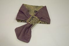 "$38 Reversible Scarf Pattern is very beautiful ""Chuysanthemum"". Wool & Cotton fabrics.  http://kimokame.com/shop/"
