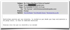 Testimonio 69 - Elimine Su Dolor de Espalda    http://www.ElimineSuDolorDeEspalda.com/blog