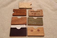 laser cut business cards - Google Search