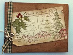 http://laurascreativemoments.blogspot.co.uk/2012/11/vintage-christmas-cards.html