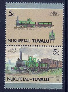 TUVALU NUKUFETAU LOCO 100 ECR CLASS Y 9 LOCOMOTIVE UNITED KINGDOM STAMPS MNH http://spain-travel-now.info/sn/re/?query=141812028715…