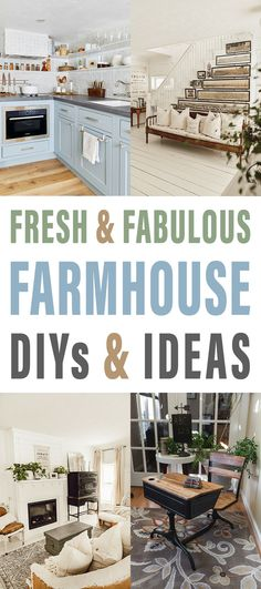 Fresh and Fabulous Farmhouse DIYS and Ideas are waiting for you at The Cottage Market today! It's all about what's new in the Farmhouse DIY World! Farmhouse Stools, Modern Farmhouse Kitchens, Farmhouse Homes, Farmhouse Design, Farmhouse Decor, Farmhouse Ideas, Decorating Your Home, Diy Home Decor, Decorating Ideas