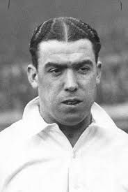 William Ralph 'Dixie' Dean Probably the best centre forward of all time. Scored 60 league goals in one season a record unlikely to be broken. He was the first player to wear the number 9 shirt, in the 1933 FA Cup final against Manchester City. Jack Charlton, Bobby Charlton, World Football, Football Players, Tranmere Rovers Fc, Middle Part Hairstyles Men, Carlos Valderrama, George Weah, Baseball Training