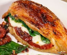 Healthy Chicken Recipes, Vegetable Recipes, Healthy Dinner Recipes, Mozzarella, Easy Homemade Burgers, Easy One Pot Meals, Mashed Sweet Potatoes, Spaghetti Recipes, Fat Burning Foods