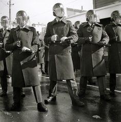 Ans Westra Anti Springbok Tour Demonstration Newtown Wellington 1981 Silver Gelatin Print 190 X Mm