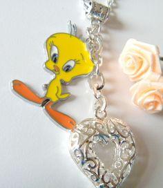 Tweety bird necklace