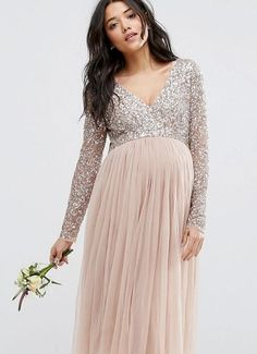 Long Maternity Dresses Picture maya maternity long sleeve midi dress with delicate sequin Long Maternity Dresses. Here is Long Maternity Dresses Picture for you. Maternity Bridesmaid Dresses, Maternity Gowns, Maternity Fashion, Pregnancy Formal Dresses, Spring Maternity, Maternity Wedding, Maternity Leggings, Maternity Pictures, Dresses For Pregnant Women