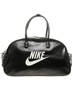 bb5f12d3aa Nike Heritage SI Shoulder Club - Bolsa unisex, color negro / blanco ...