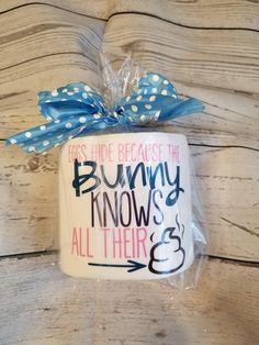 Easter gift this bunnys got jokes toilet paper gag gift home easter gift eggs hide because the bunny knows all their toilet paper gag gift home decor white elephant gift bathroom negle Gallery
