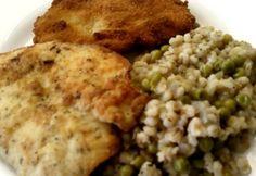 Kakukkfűves csirke zöldborsós árpával Risotto, Ethnic Recipes, Food, Essen, Meals, Yemek, Eten
