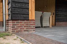 House Makeovers, Back Garden Design, Back Gardens, Cabins, New England, Garage Doors, Exterior, Wood, Creative