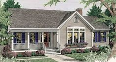 This 1 story Country features 1626 sq feet. Call us at 866-214-2242 to talk to a House Plan Specialist about your future dream home!