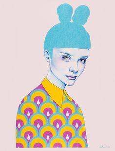 Natalie Foss is a freelance #illustrator based in Oslo #Illustration #Altrove
