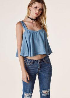 a5de44bdbc2c89 Women s Simple solid color sling with zipper loose crop top -ASOSHOW  Clothing Online Wholesale Fashion