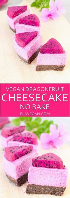 Raw vegan cheesecake recipe which is gluten free and paleo friendly. 100% plantbased no bake recipe