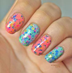 Jelly Sandwich Manicure