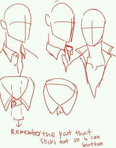 Button down shirt- collar